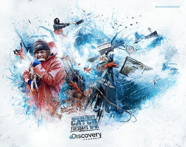 Discovery Channel - Deadliest Catch sur le réseau