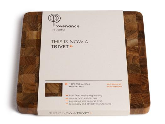 Provenance Packaging by Jog Design