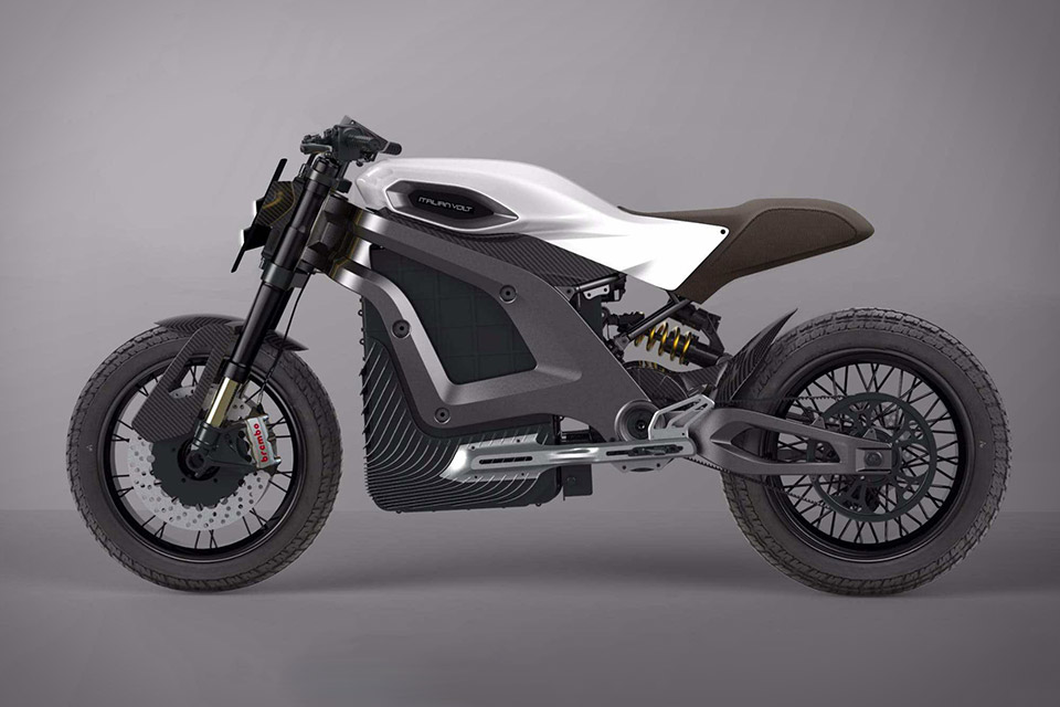 Italian Volt Electric Motorcycle | Uncrate