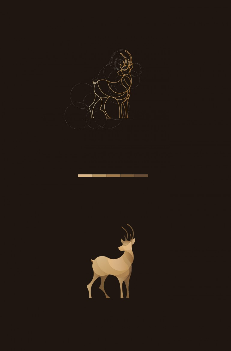 Wild Lines : Animal Logos on Inspirationde