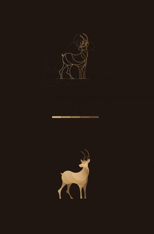 Wild Lines : Animal Logos on Inspirationde
