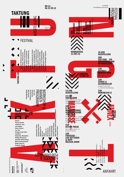 Taktung by Typosalon from Switzerland on Inspirationde