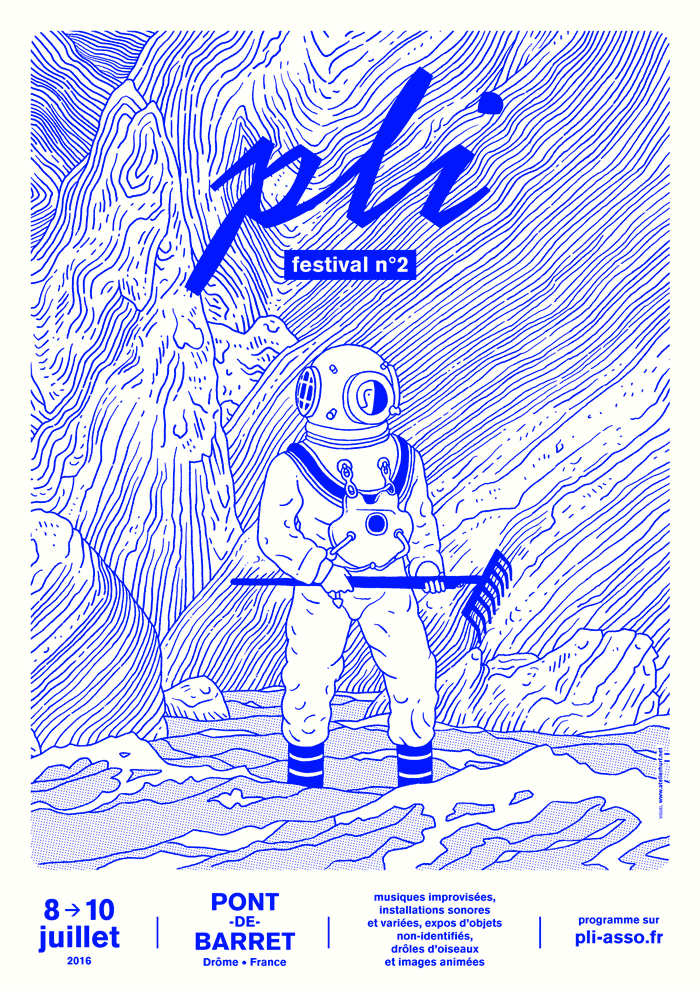 Editorial & Poster: PLI • Improvised Music & Funny Birds on Inspirationde