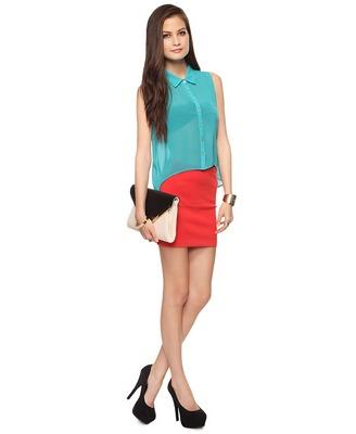 Ponte Bodycon Skirt | FOREVER21 - 2000035916