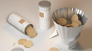 The Pringles Package Sucks. This Chip Can Blooms Into A Bowl | Co.Design: business + innovation + design