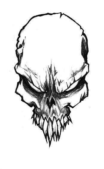 Skull_Sketch_by_Jerner.jpg (348×562)
