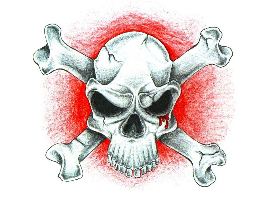 Skull_N_Bones_by_FlaShGuy82.jpg (1039×769)