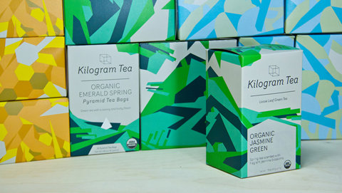 Kilogram Tea - The Dieline -