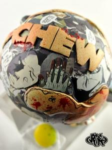 "Comic Stripped ""CHEW"" Custom 
