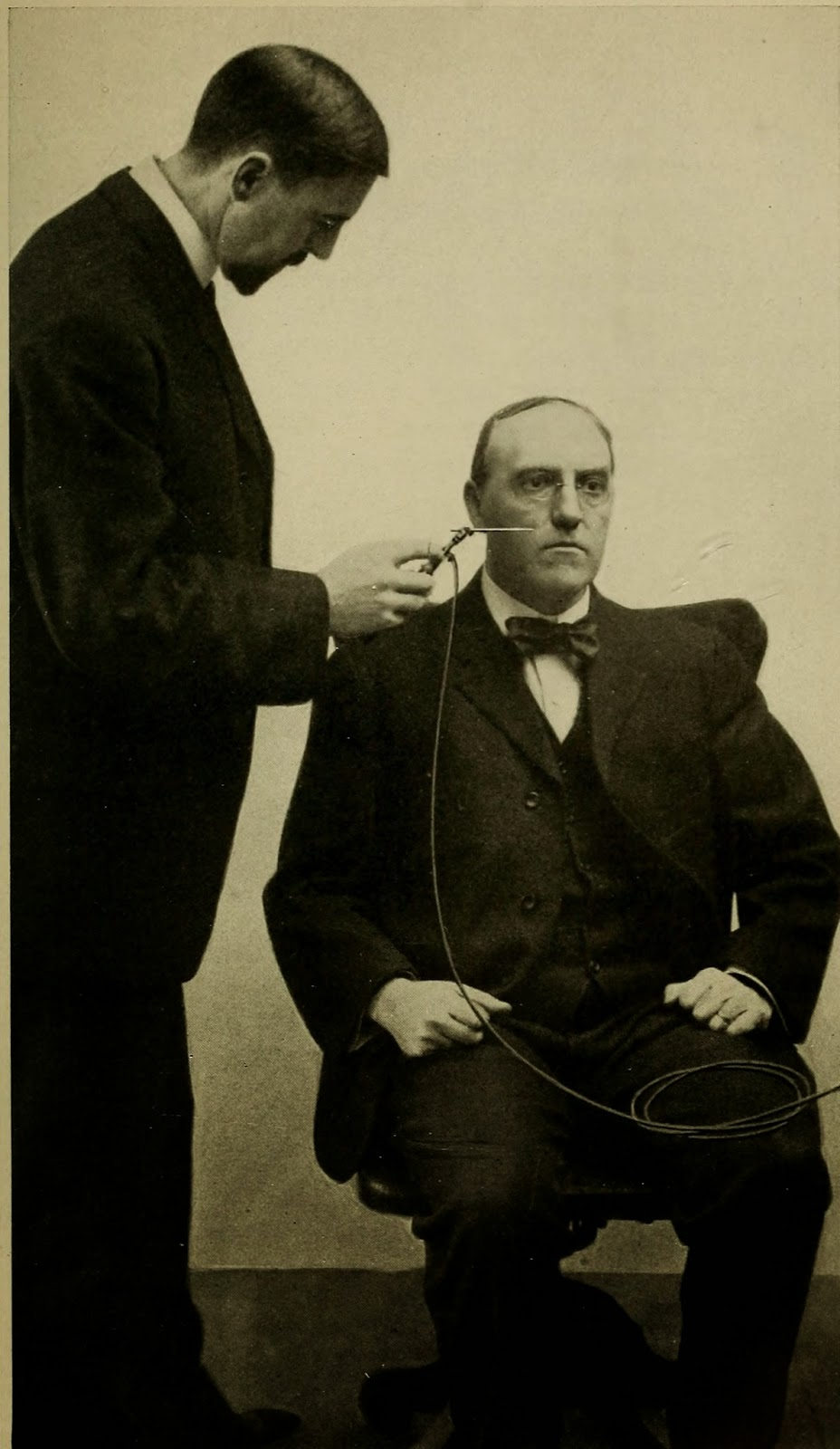 vintage everyday: High frequency electric currents in medicine and dentistry, 1910