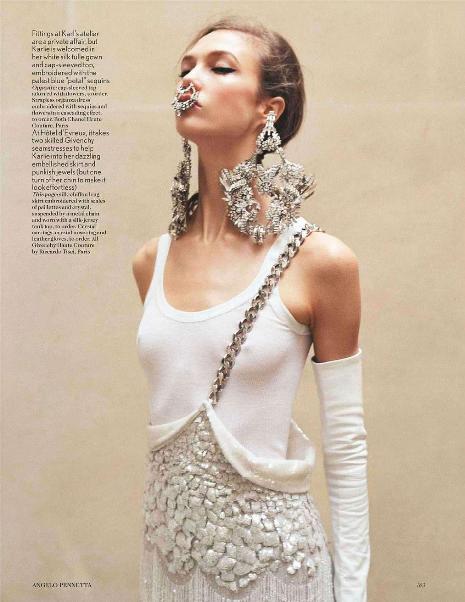 Karlie Kloss by Angelo Pennetta: Vogue UK, May '12 > photo 1844339 > fashion picture