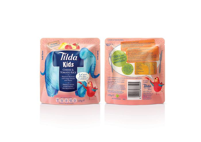 Tilda Rice for Kids - The Dieline: The World's #1 Package Design Website -