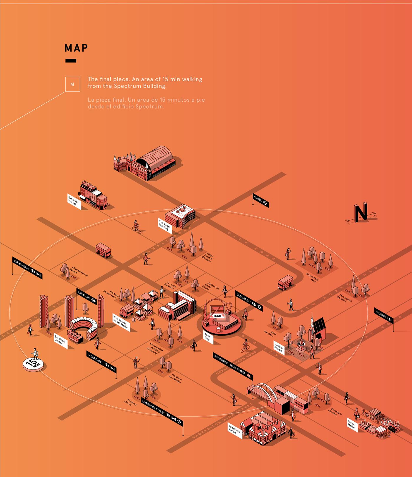 London SPECTRUM Map on