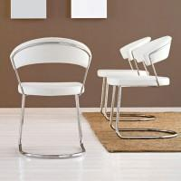 thru the looking glass, contemporary and classic dining chairs - carvers, stackable, folding, leather, plastic and fabric