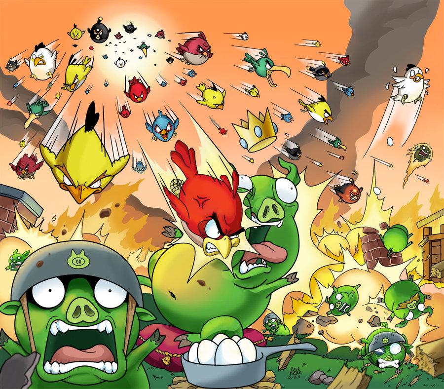 Creative Angry Birds Fan Art   Daily Inspiration