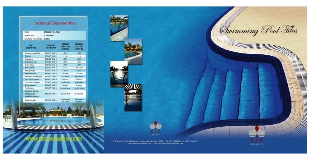 Swimmingpool - RAK CERAMICS - (Version JPG) - PDF Catalogues | Documentation | Brochures