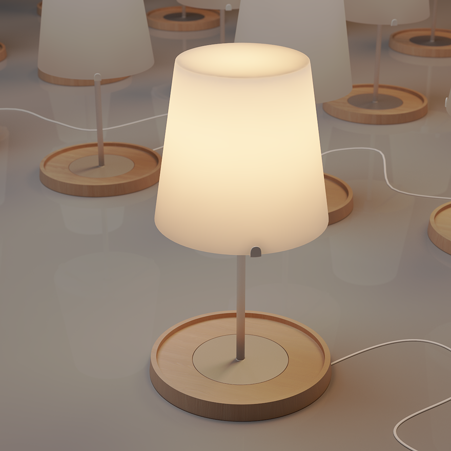 ikea lighting - 3d Graphics - Creattica