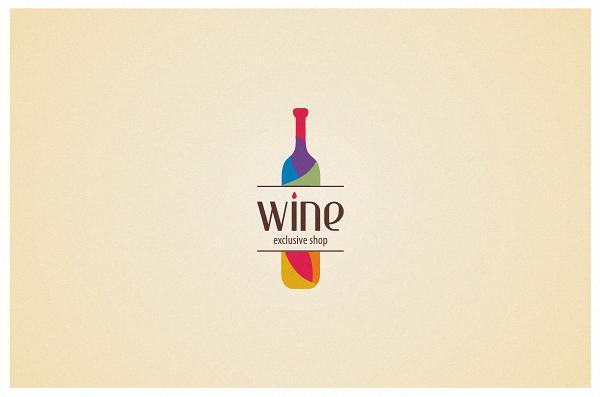 Wine - Logos - Creattica