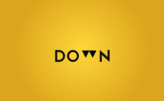 Down - Logos - Creattica