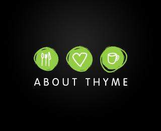 About Thyme - Logos - Creattica