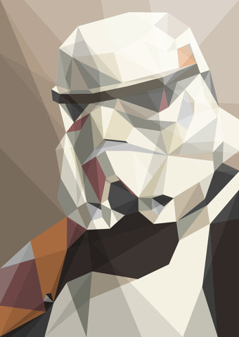 Trooper Art Print by Liam Brazier | Society6