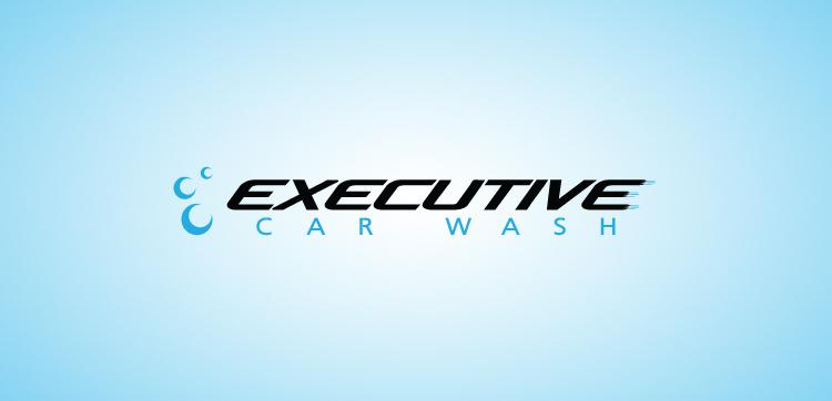 Executive Car Wash - Logos - Creattica