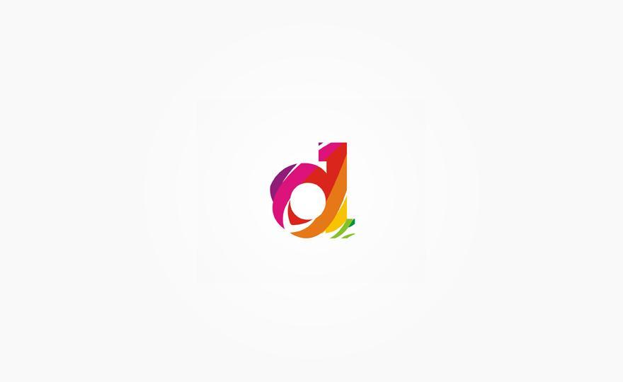 D monogram / symbol - Logos - Creattica