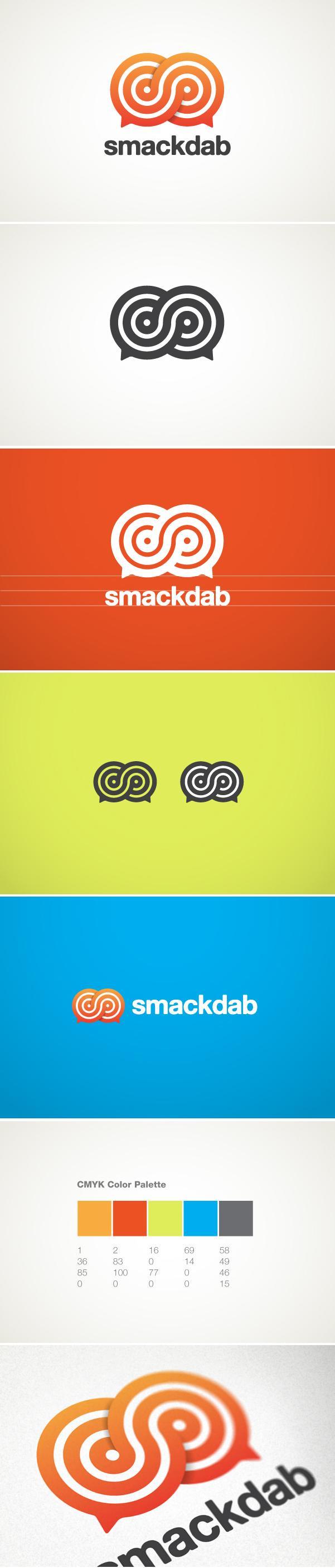 Smackdab Logo - Logos - Creattica