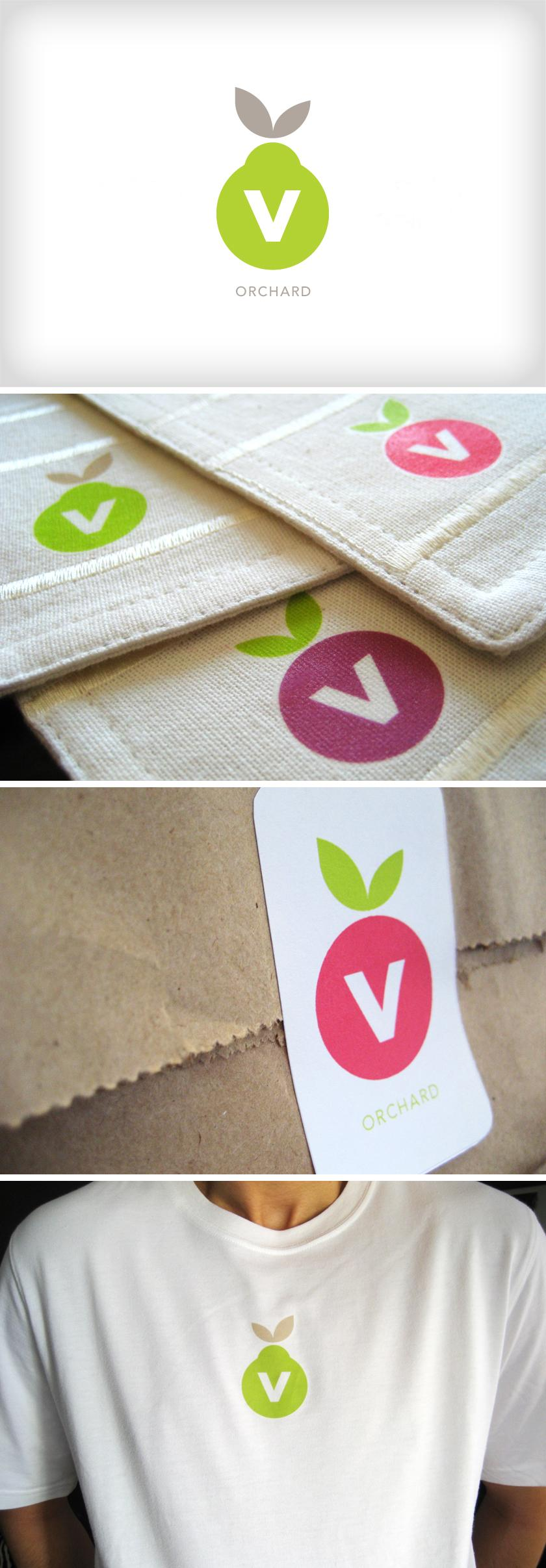 V-Orchard - Logos - Creattica