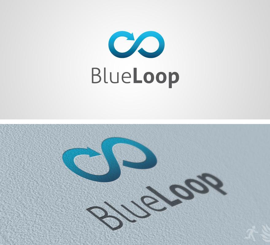 Blue Loop Logo - Logos - Creattica