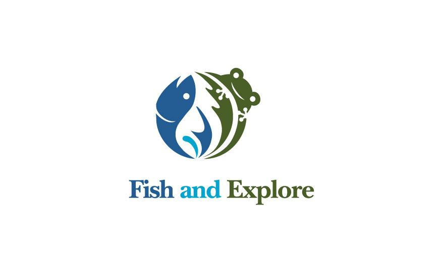 Fish and Explore - Logos - Creattica