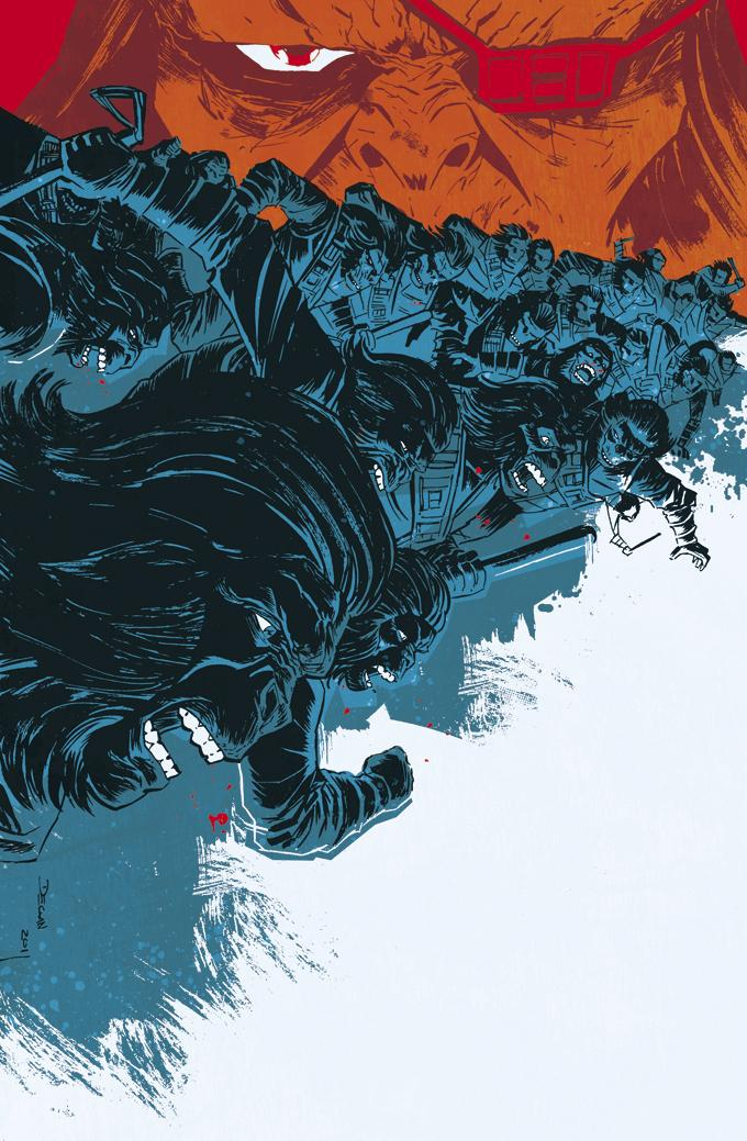 BETRAYAL --APES 4 Cover by ~DeclanShalvey