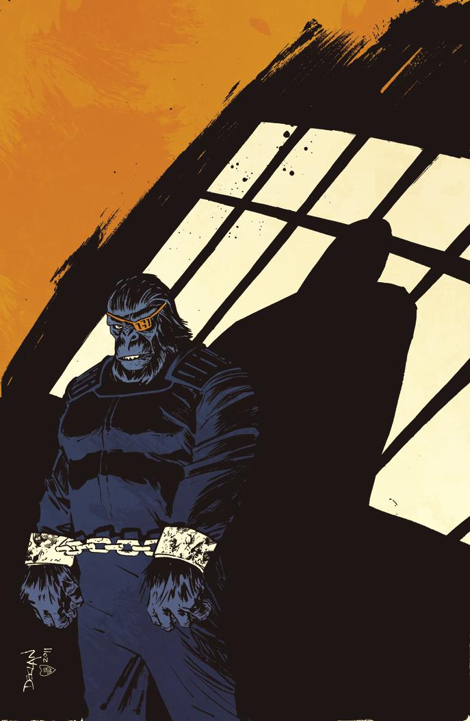 BETRAYAL --APES 3 Cover by ~DeclanShalvey
