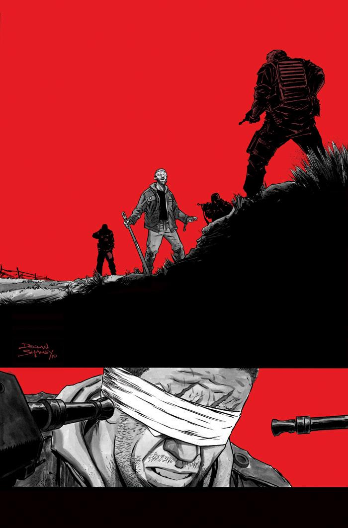 28 Days Later Issue 11 Cover by ~DeclanShalvey