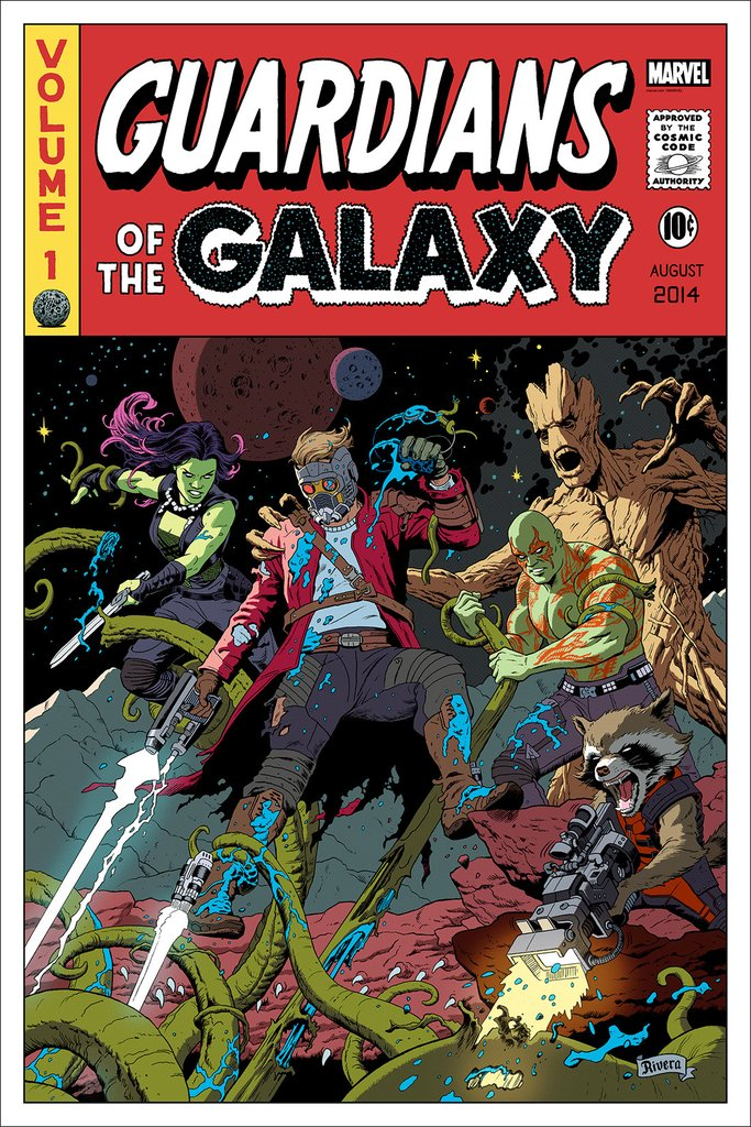 GUARDIANS OF THE GALAXY: Poster Enamel Pins! – Mondo