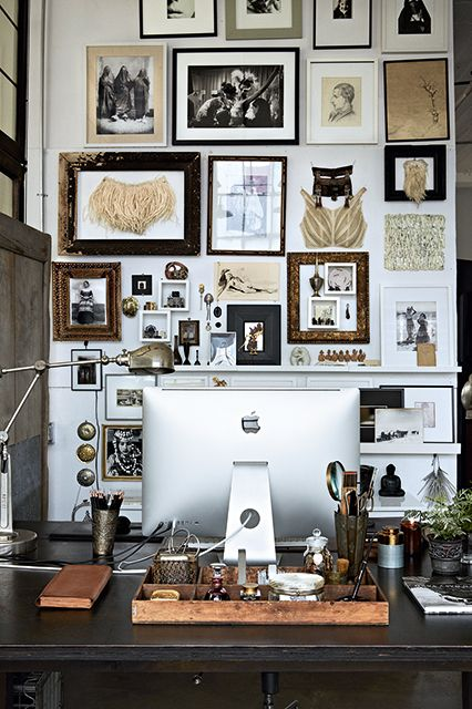 Frame Your Inspiration – Workspace Inspiration on Inspirationde