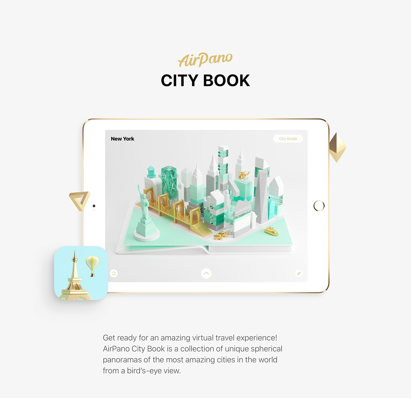 AirPano City Book on