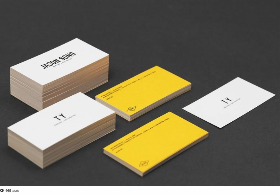 ACRE Business Card on Dropula - The inspirational catalogue