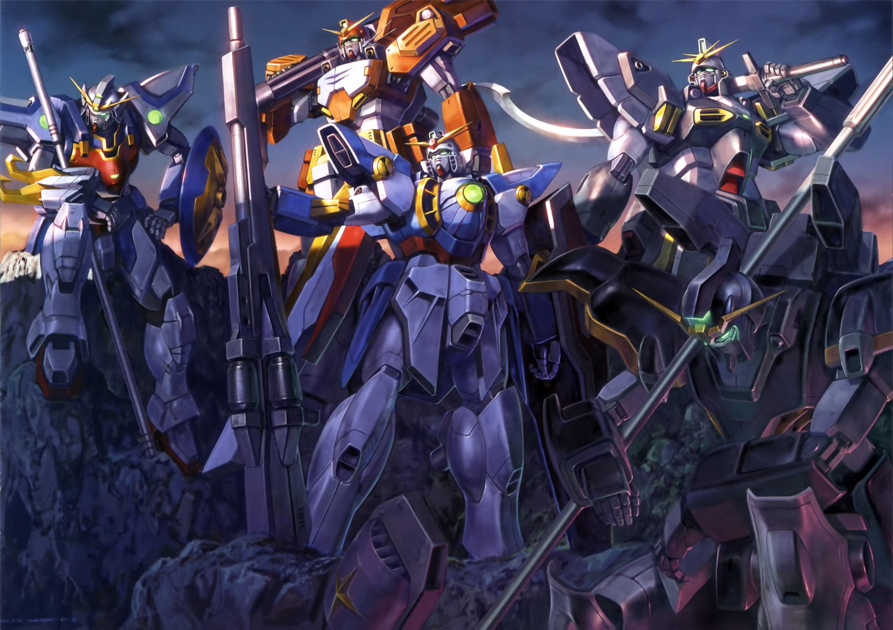 5_Gundams_GW.jpg (JPEG-Grafik, 3039×2145 Pixel) - Skaliert (60%)