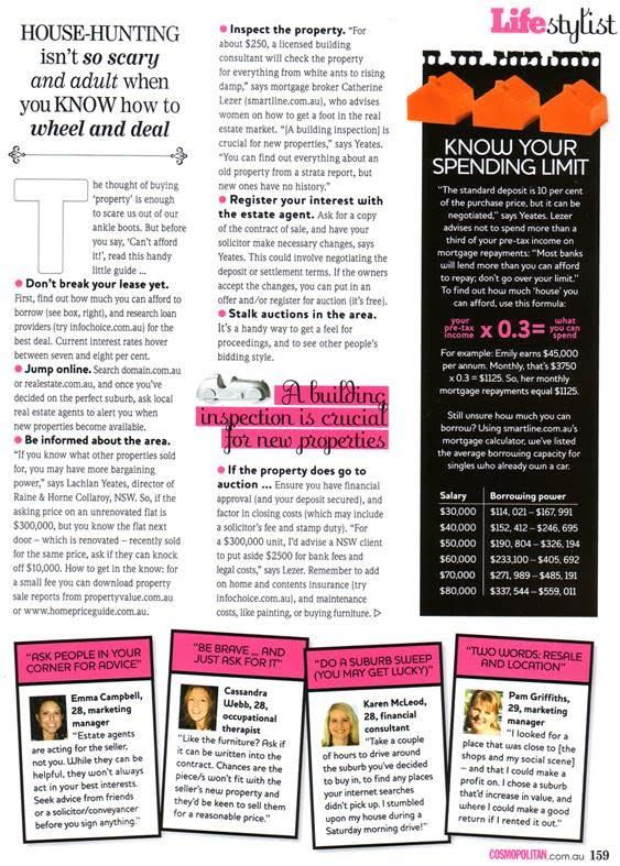 Cosmo Article - Rich Chicks
