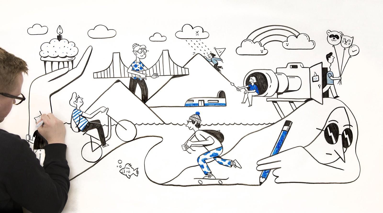 Illustrating a more human brand (part 1) – Dropbox Design – Medium