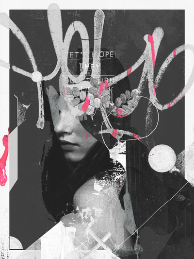 Raphael Vicenzi, collage, fashion, design in Collage