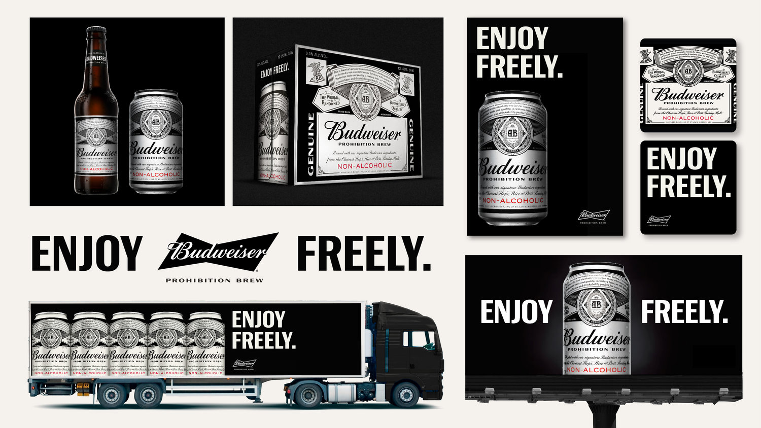 The Dieline Awards 2017: Budweiser Prohibition Brew — The Dieline | Packaging & Branding Design & Innovation News