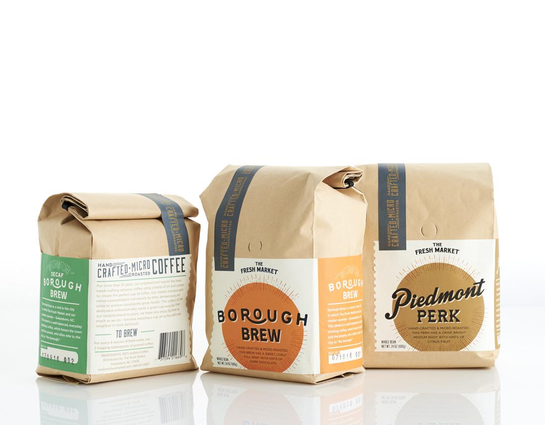 The Dieline Awards 2017: The Fresh Market Artisan Coffee — The Dieline | Packaging & Branding Design & Innovation News