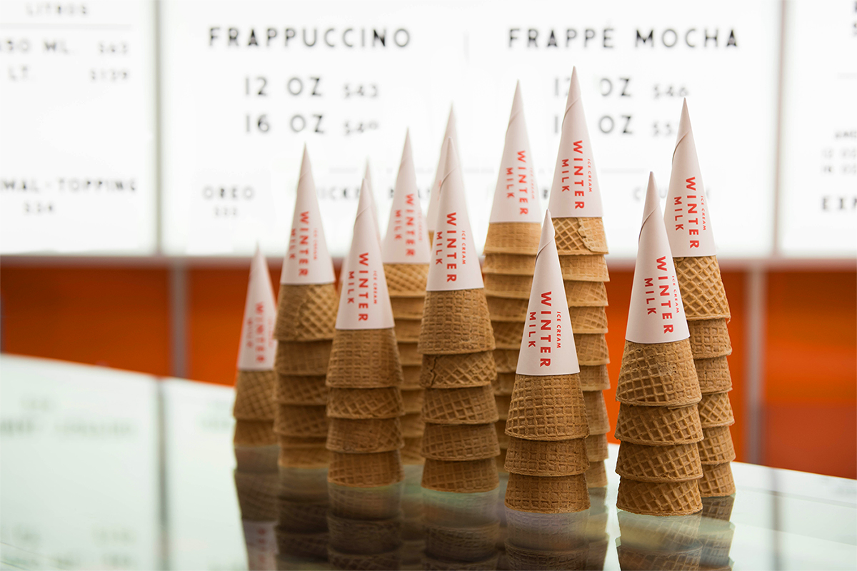 We Love The Retro Inspired Branding For This Ice Cream Shop — The Dieline | Packaging & Branding Design & Innovation News