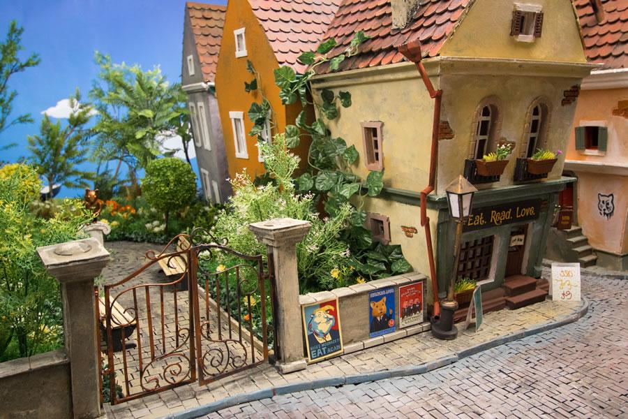 Hungry Hungry Hamsters Handmade Miniature Town
