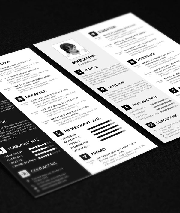 Cv resume template psd free resume template smashresume cv resume template psd free resume template smashresume yelopaper Image collections