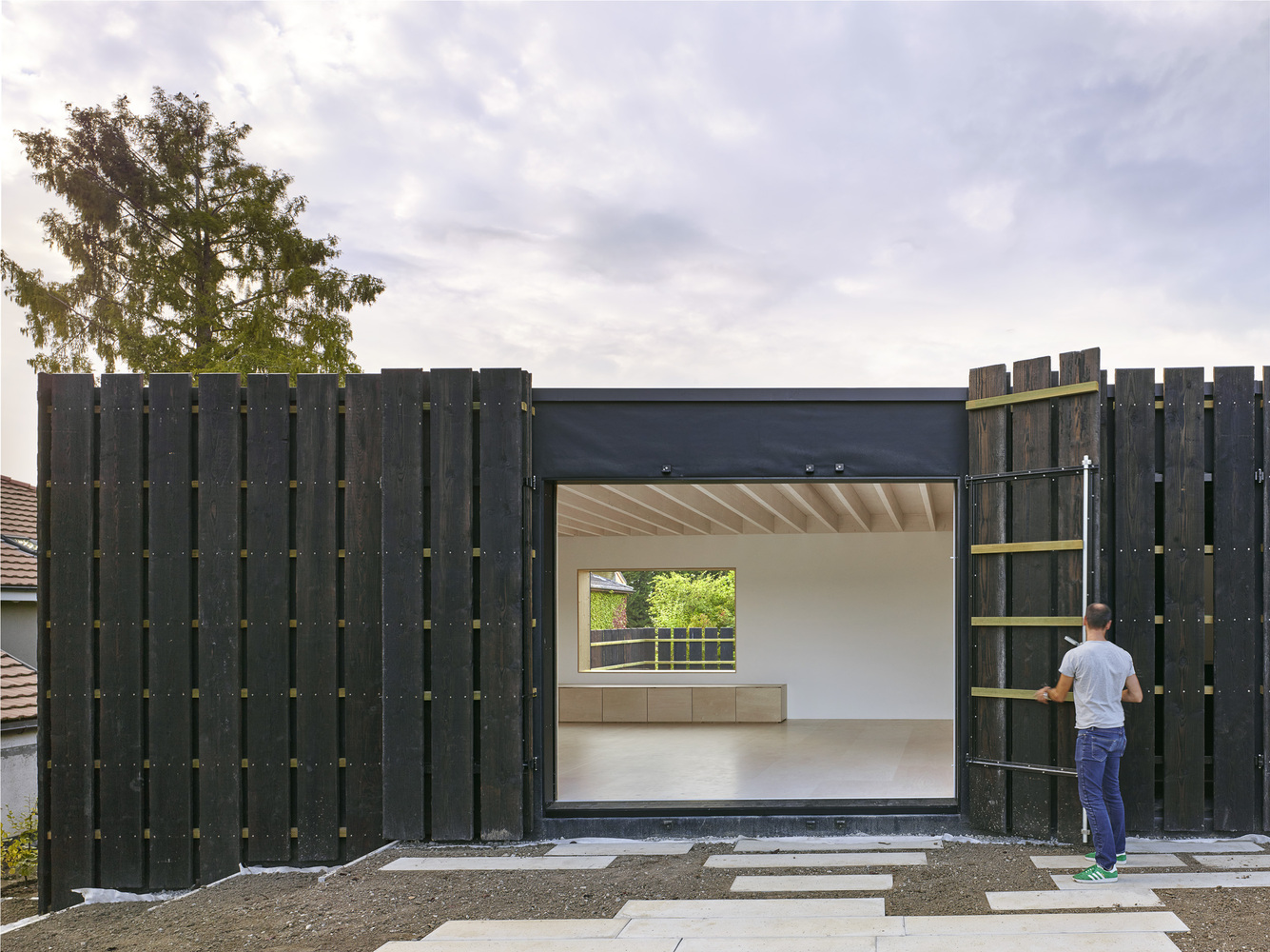 Gallery of House in Corsier / bunq architectes - 6