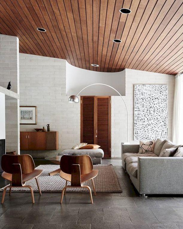 Mid Century Modern Living Room Decor Ideas 14 - Home Decor