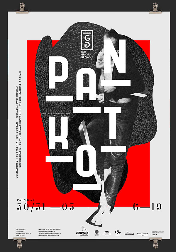 PAN KOT for Theatre Gdynia in Poster
